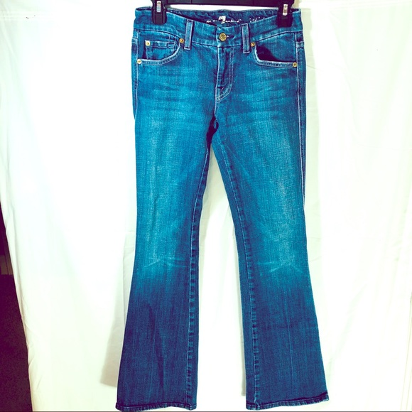 7 For All Mankind Denim - 7 For All Mankind A-Pocket Boot-cut Jeans